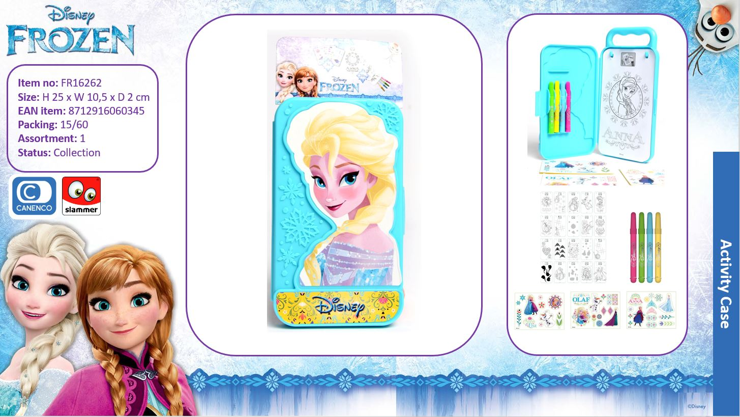 Disney Frozen Activity Case