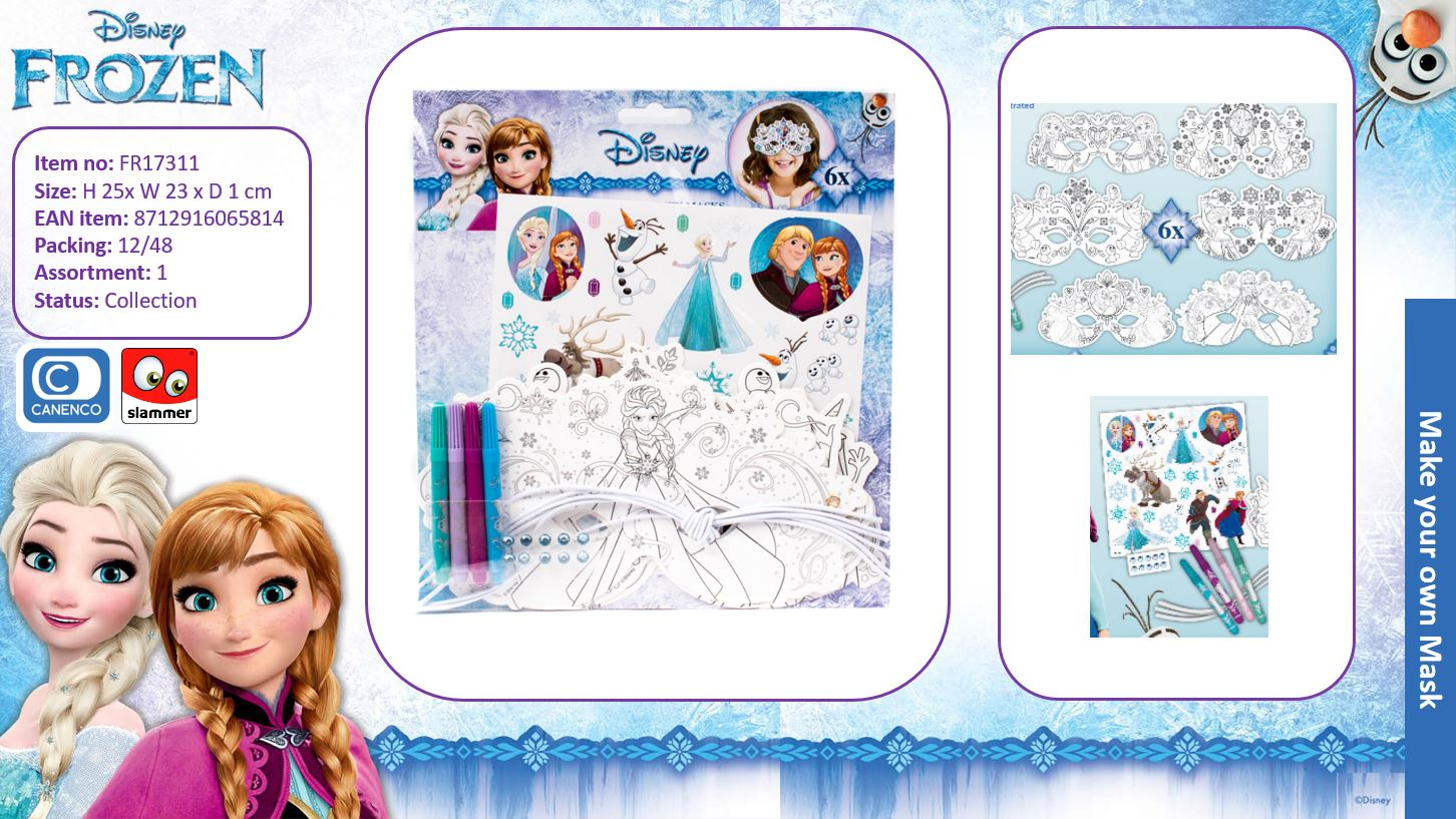 Disney Frozen Colour Your Own case