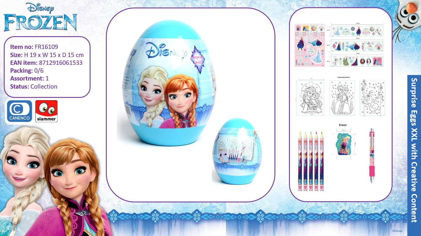 Disney Frozen Surprise Egg XXL