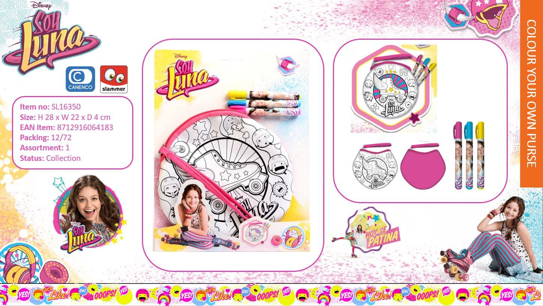 Disney Soy Luna Colour Your Own Purse