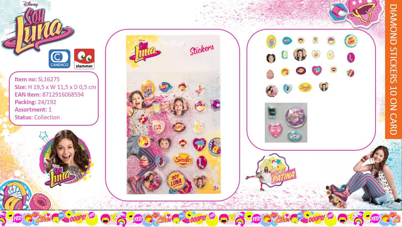 Disney Soy Luna Diamond Stickers