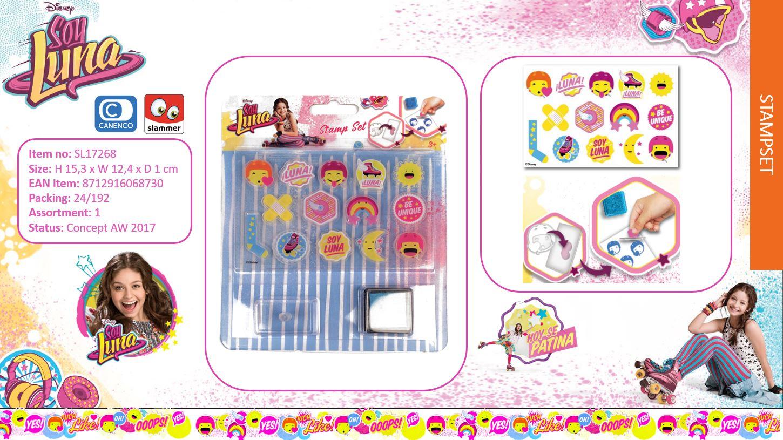 Disney Soy Luna Stamp Set