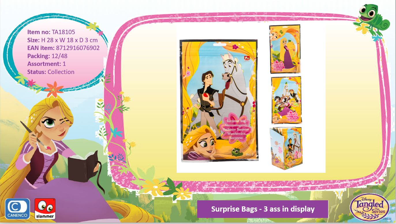 Disney Tangled Surprise Bags 3-Assorted