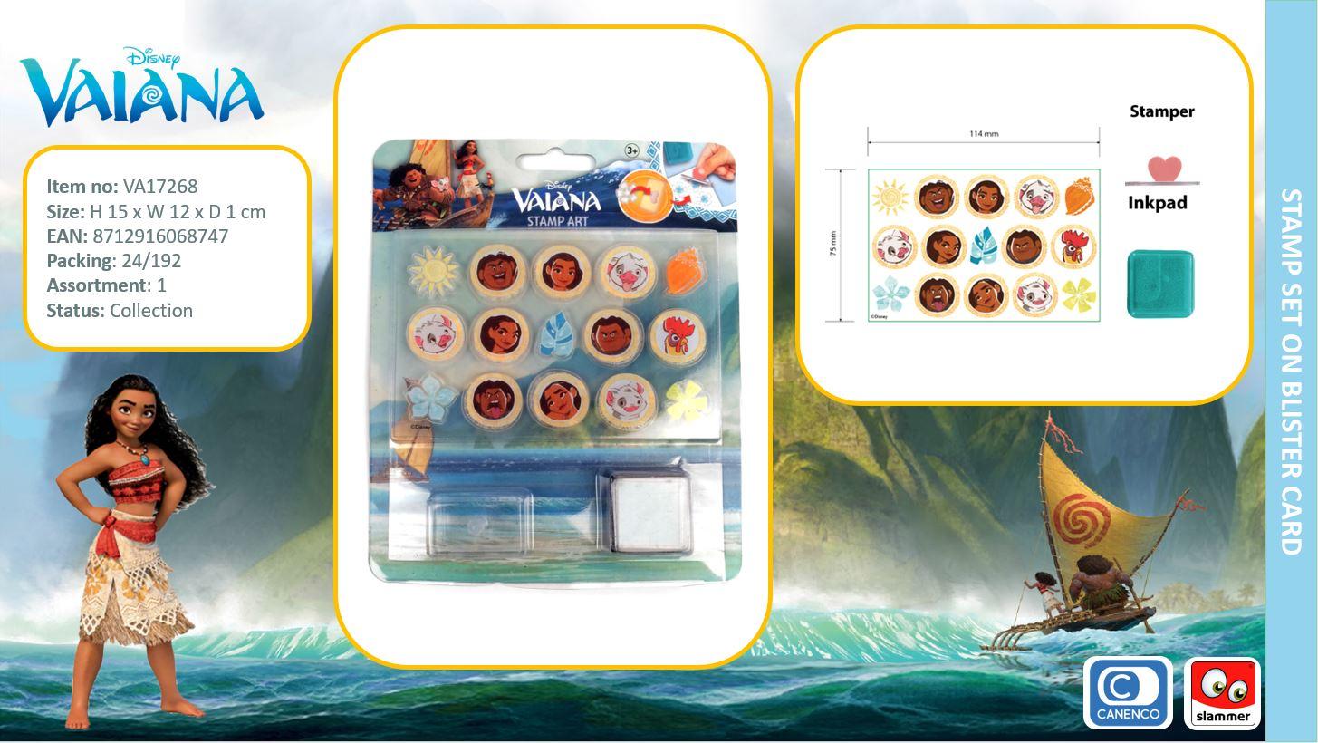 Disney Vaiana Stamp Set