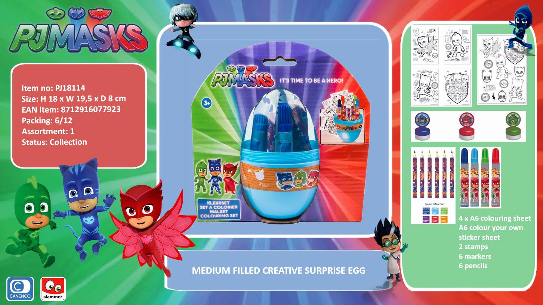 Entertainment One PJ Masks Creative Surprise Egg