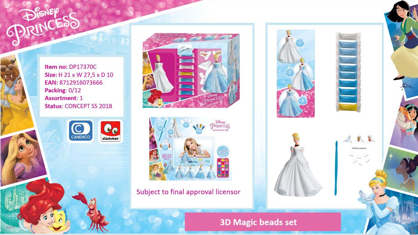 Disney Princess 3D Magic Beads Cinderella