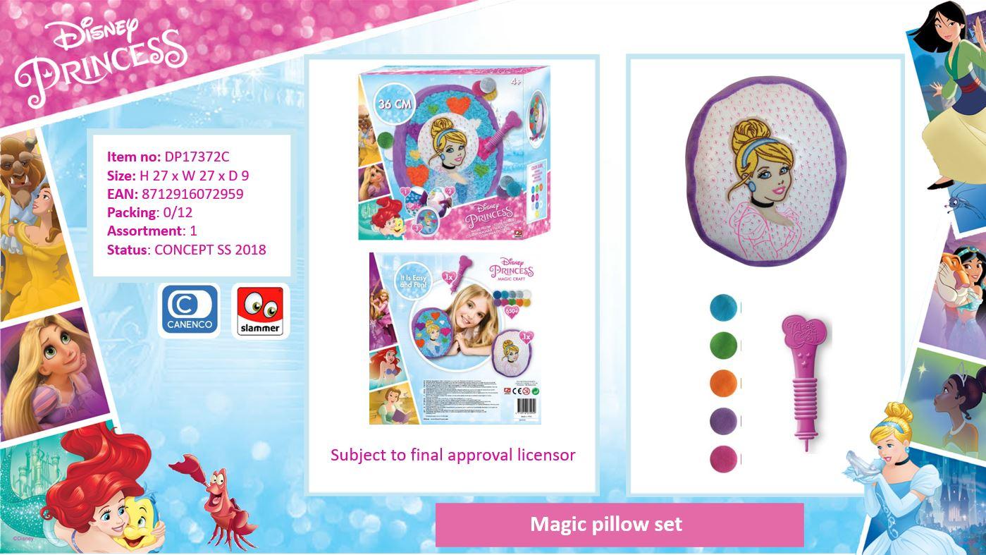 Disney Princess Magic Pillow Set