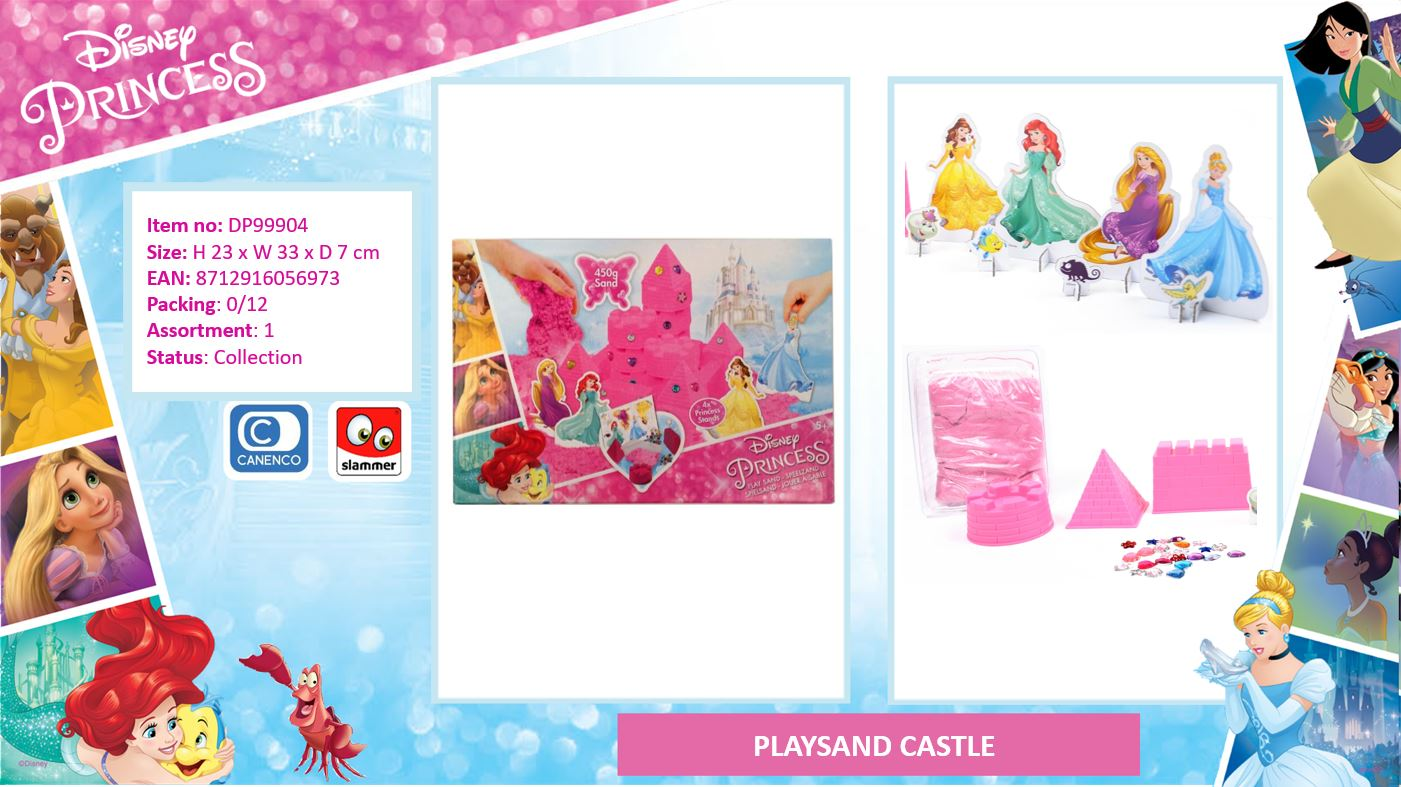 Disney Princess Playsand Castle