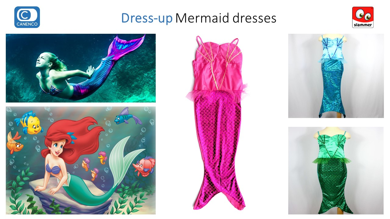 Slammer Dress-up Mermaid