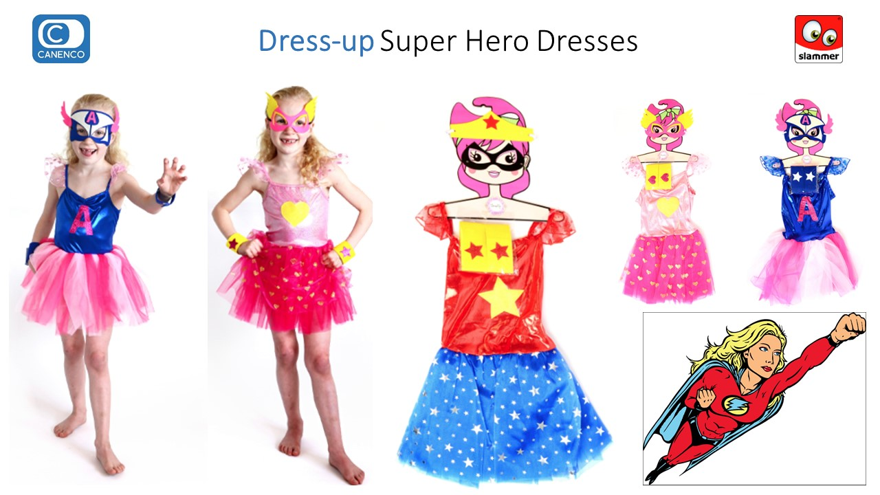 Dress-up Super Hero Slammer