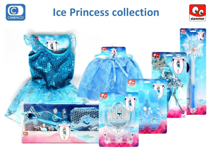 Slammer Dress-up Ice Princess