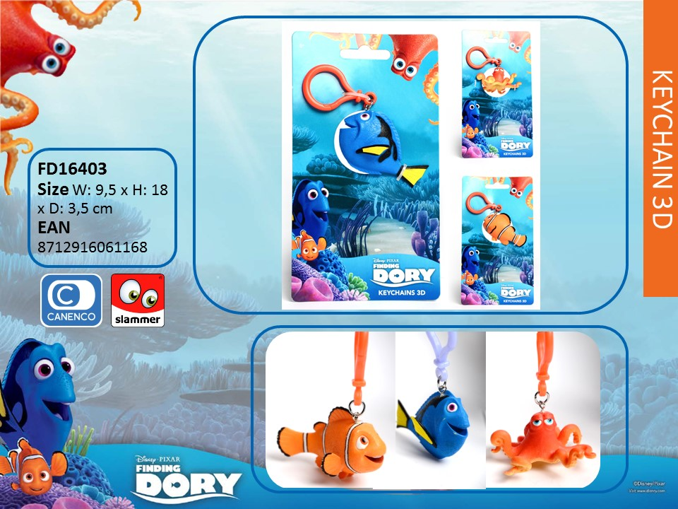 Finding Dory 3D Key Chain