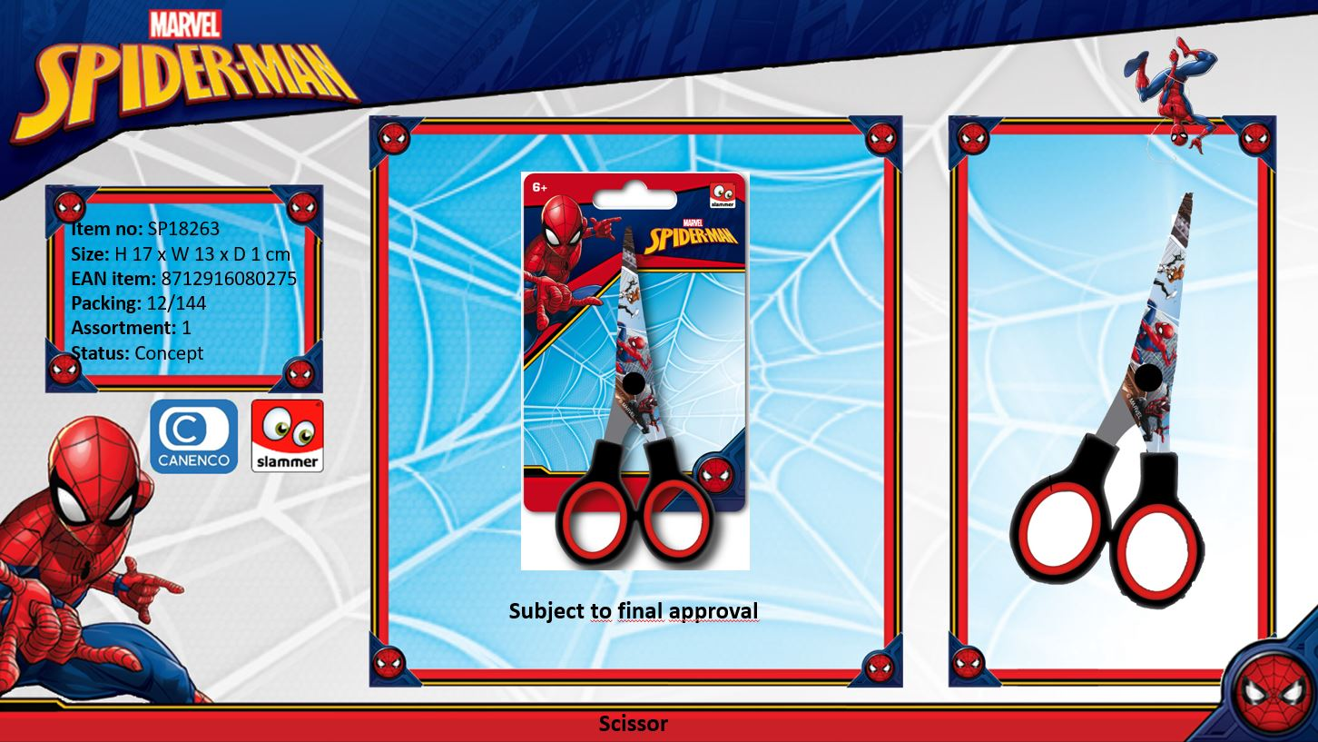 Marvel Spiderman Scissor